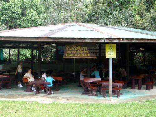 แวะทานข้าวที่ร้าน��าหารข��ง��ุทยานฯ  น้ำตกเหวสุวัฒน์