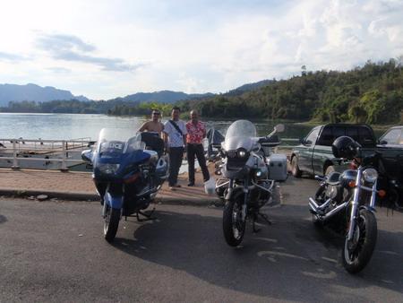 ก่อนลงเรือไปกุ้ยหลินเมืองไทย