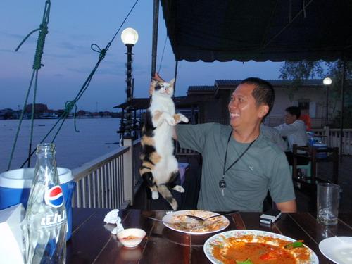 จบทริปแล้วครับ แวะทานข้าวที่ร้านครูหมู แม่น้ำแม่กลอง เพื่อนเก่าผมมาสะกิด ขอกินปลาทูอีกแล้ว